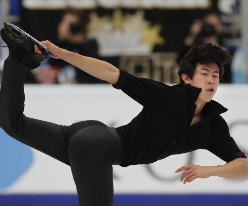 Figure skating: Nathan Chen leads Olympic champ Yuzuru Hanyu in Grand Prix opening