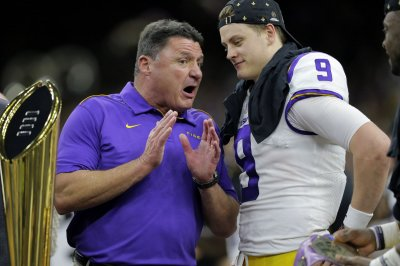 LSU coach Ed Orgeron: Joe Burrow can build Super Bowl team in Cincinnati