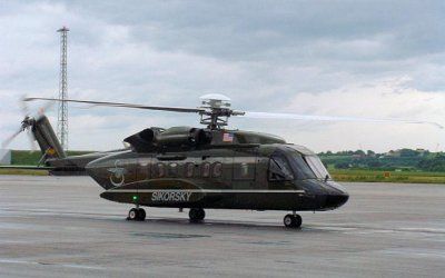 Sikorsky chosen for new fleet of presidential helicopters