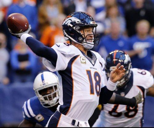 Broncos QB Peyton Manning returns to practice