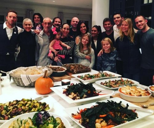 Gwyneth Paltrow shares Thanksgiving photo with Chris Martin