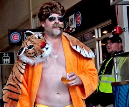 Ron Burgundy: Chicago Cubs dress like Anchorman crew for road trip