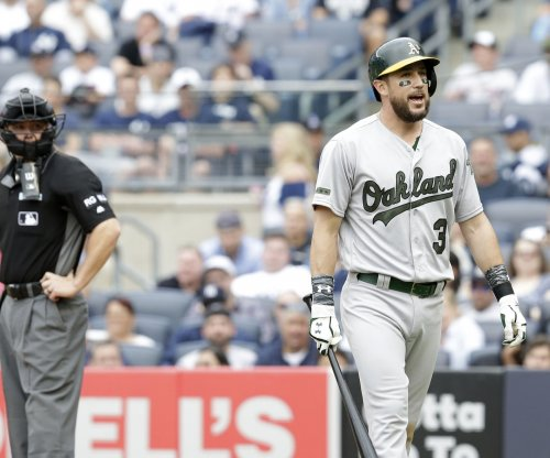 Tampa Bay Rays get Trevor Plouffe in trade with Oakland Athletics