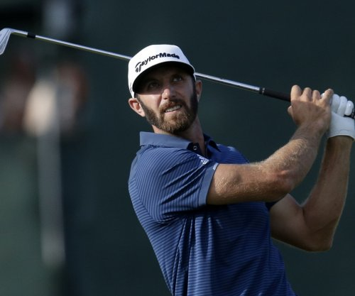 WGC-HSBC: Dustin Johnson fires 63 to take lead