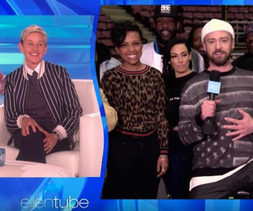 Justin Timberlake, Kristen Bell celebrate Ellen DeGeneres' 60th birthday