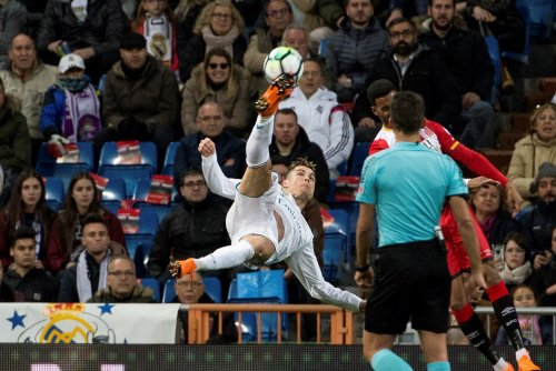 Cristiano Ronaldo scores four, gets assist vs. Girona