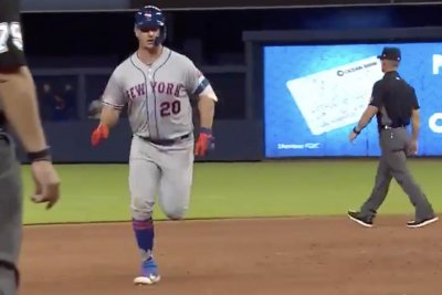 Mets rookie Pete Alonso rips 444-foot bomb for first career homer