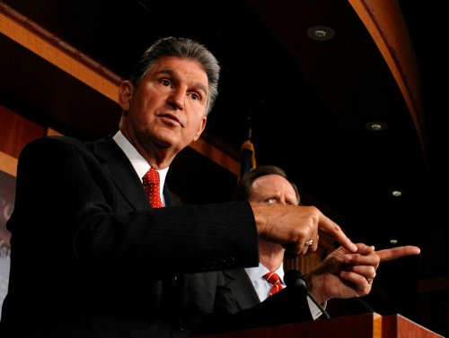 Man arrested for Manchin threats