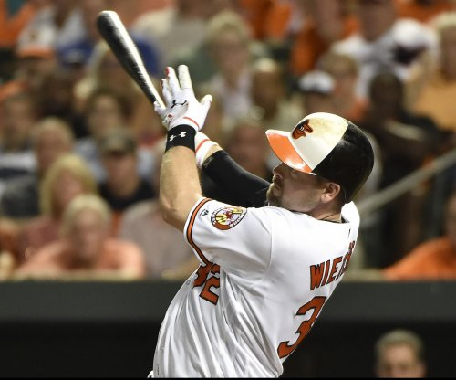Matt Wieters homers twice as Baltimore Orioles clinch wild card