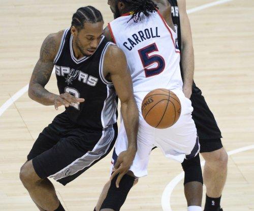 Kawhi Leonard's late surge lifts San Antonio Spurs past Philadelphia 76ers