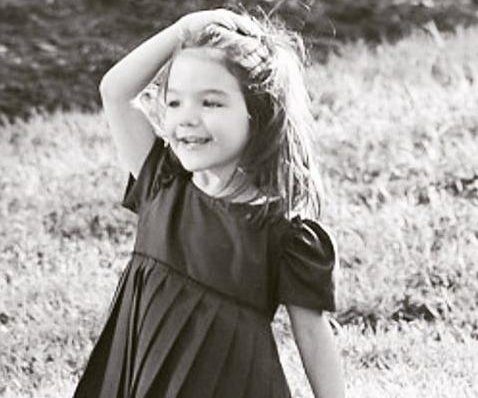 Katie Holmes shares throwback photo of Suri: 'My sweet angel'