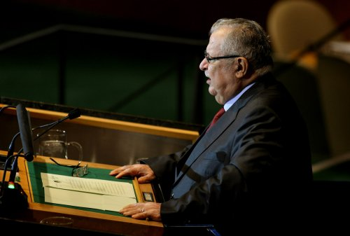 Iraqi President Talabani hospitalized