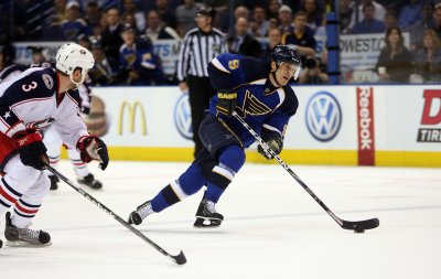 NHL: St. Louis 2, Columbus 1 (OT)