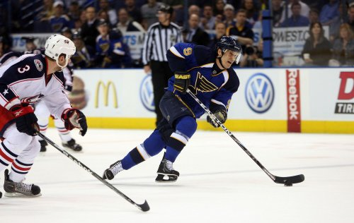 NHL: St. Louis 2, Columbus 1 (OT)