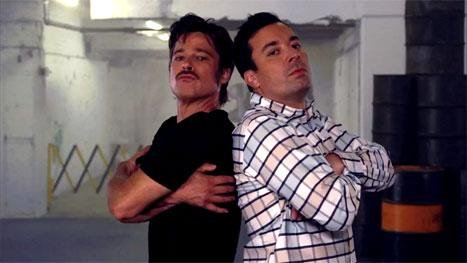 Brad Pitt, Jimmy Fallon talk in dance moves in new 'Tonight' sketch