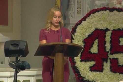 Late Angels pitcher Tyler Skaggs remembered at private memorial service