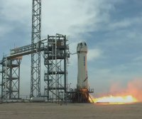 Watch live: Blue Origin rehearses crew access to space capsule during launch