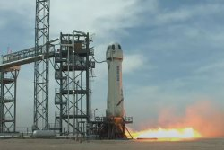 Blue Origin launches what may be final test flight before carrying people