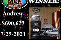 Visitor to Indiana casino scores record jackpot on $1 slot machine bet