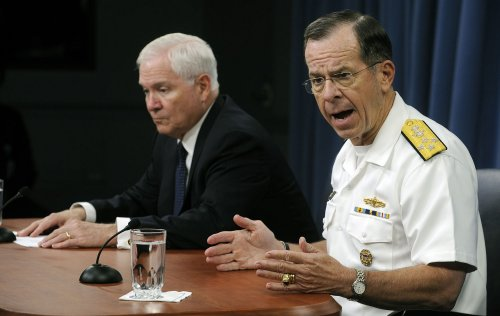 Adm. Michael Mullen set for 'Late Show'