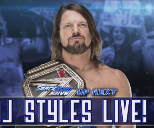 WWE Smackdown: AJ Styles calls out Jinder Mahal