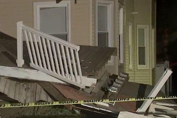 At least 22 injured in deck collapse in New Jersey residential building