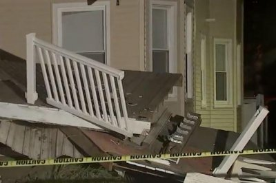 At least 22 injured in decks' collapse in N.J. residential building