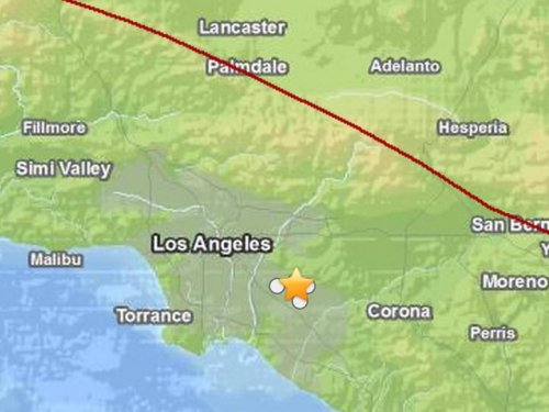 Major quake on Puente Hills thrust fault could be worse than San Andreas