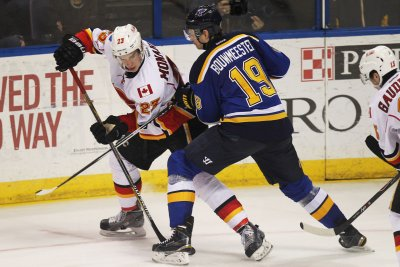 St. Louis Blues clinch playoff spot with win over Calgary Flames