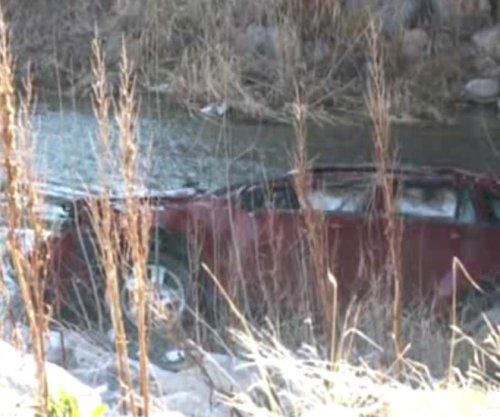 Baby rescued after spending 12 hours inside overturned car in frigid river