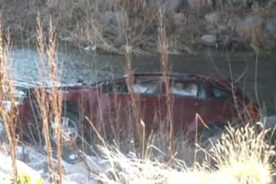 Baby rescued after spending 12 hours inside overturned car in frigid river