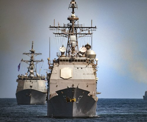 U.S. guided missile cruiser collides with South Korean boat