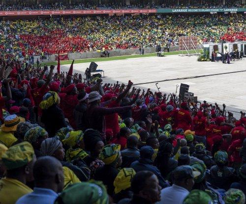 South Africans mourn Winnie Mandela at emotional service