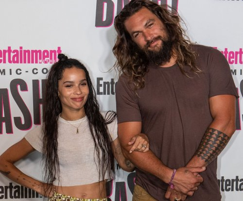 Jason Momoa takes 'Aquaman' trailer to Comic-Con, hangs with Zoe Kravitz