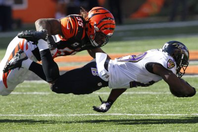 Bengals LB Vontaze Burfict fined for hit on Broncos' Andy Janovich