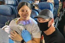 Doctor, three nurses help deliver baby on Delta flight