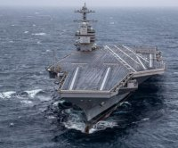 USS Gerald R. Ford carrier completes post-delivery tests