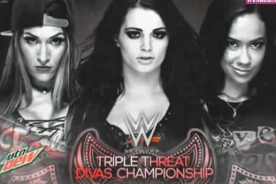 Nikki Bella, Paige beaten by AJ Lee in Triple Threat match