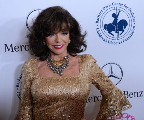Joan Collins named a dame for acting career