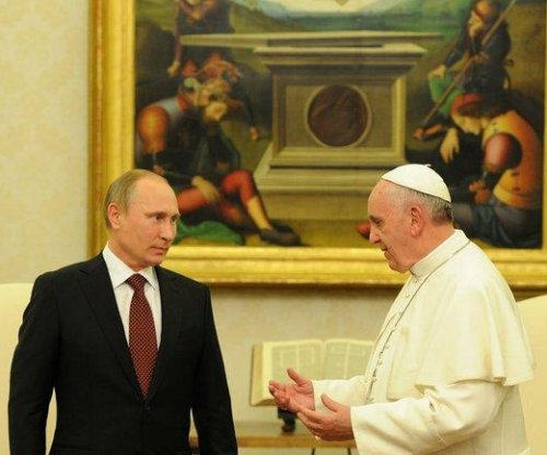 Putin arrives an hour late to Pope meeting, urged to make peace with Ukraine