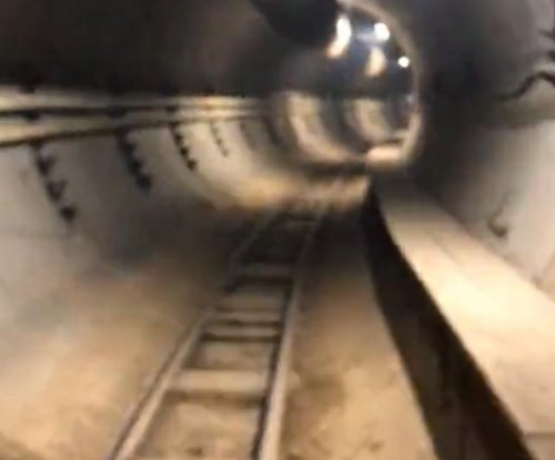 Musk shows first underground LA tunnel for high-speed Loop system