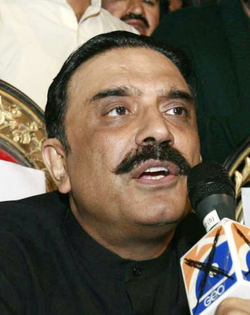 Zardari predicts win for party in Pakistan