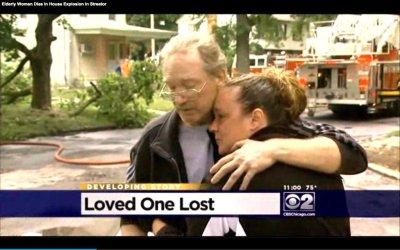 Elderly woman killed in Illinois house explosion