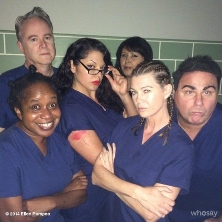 Ellen Pompeo posts 'Orange is the New Black'-inspired photo