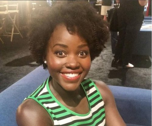 Lupita Nyong'o debuts longer hair at Disney expo
