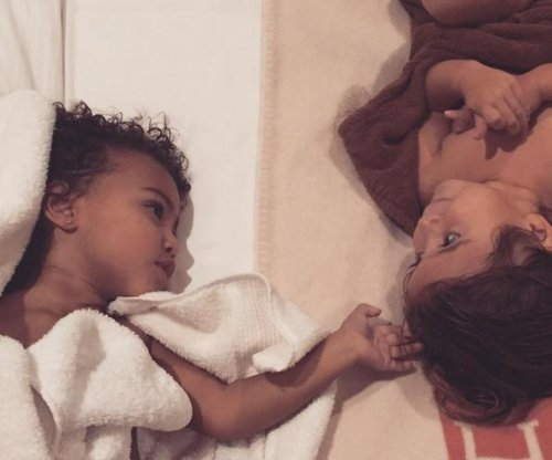 Kim Kardashian says North is excited to meet new baby