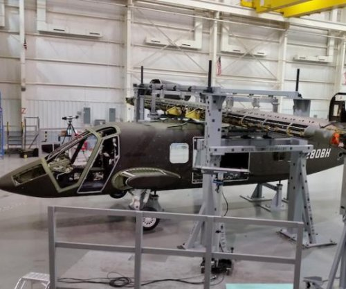 Wing, nacelles attached to V-280 demonstrator