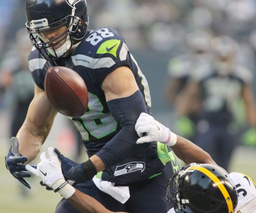 Seattle Seahawks' Jimmy Graham practicing fully, Week 1 status unknown