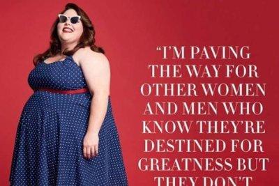 Chrissy Metz on her pin-up shoot for Harper's Bazaar: 'It's validation'