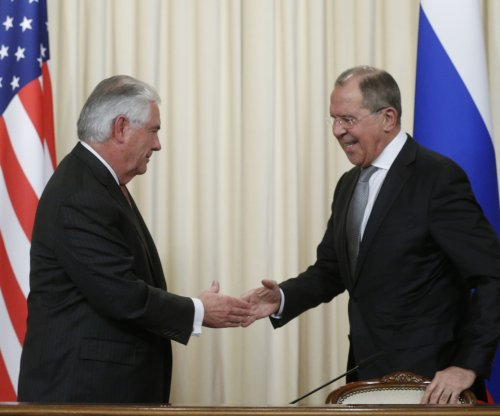 Tillerson says Putin meeting 'productive'; Russia warns U.S. against attacking Syria
